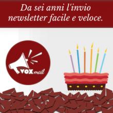 Da sei anni l'invio newsletter facile e veloce