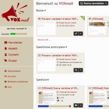 Nuova grafica di VOXmail