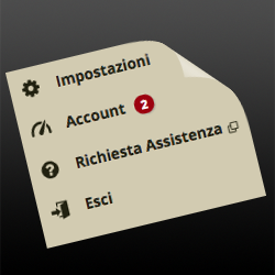 Notifiche stati account